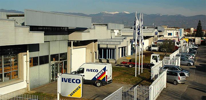 Concessionaria Iveco SVRA - Sede di Casalguidi Pistoia