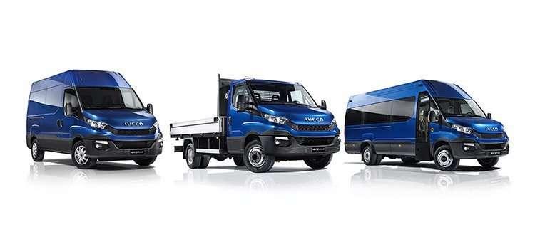 Gamma di veicoli da trasporto leggero Iveco Daily