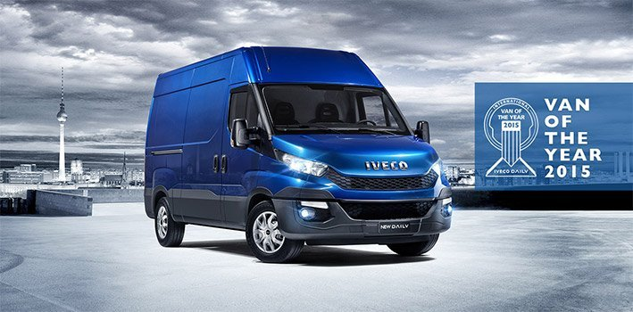 Nuovo Iveco Daily International Van of the Year 2015